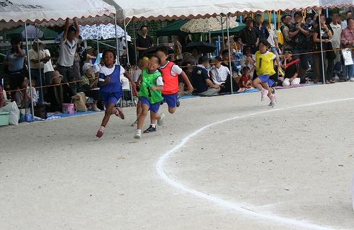 初めての小学校運動会